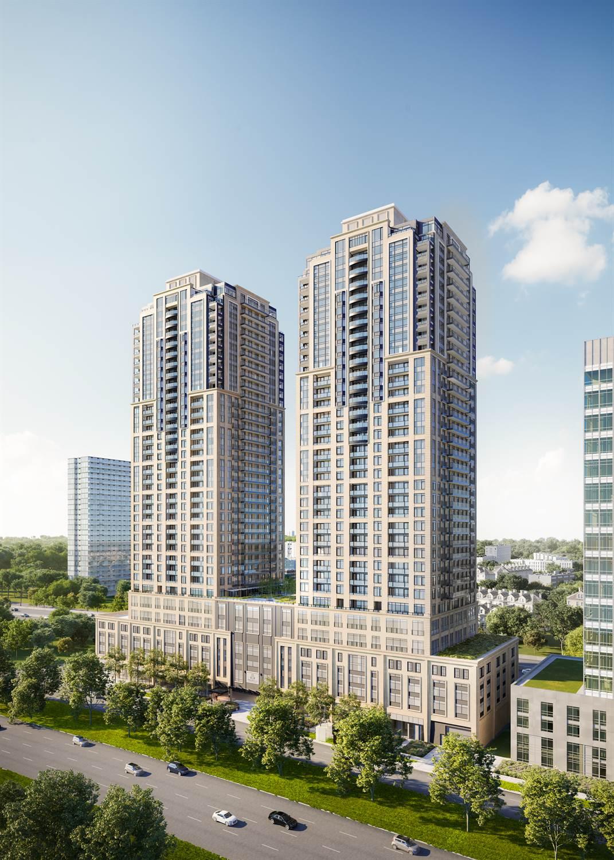 多伦多西区临湖高级公寓-Mirabella西楼